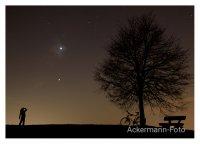 Blick nach den Sternen